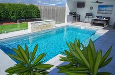 Silver Grey Smart Colour Range for Pool. Elegance from Leisure Pools Phuket Thailand, Jacuzzi, Kleiner Pool Design, Leisure Pools, Best Places To Vacation, Pool Contractors, Pool Colors, Small Pool Design, Rock Waterfall