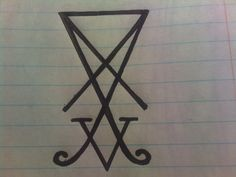 Lucifer Symbol by on DeviantArt Symbol Tattoos, Wiccan, Character Inspiration, Fallen Angels, Symbols, Deviantart, Devil, Arch, Tattoo Symbols