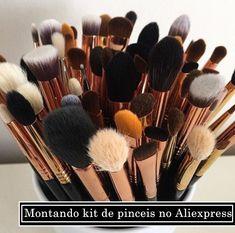 Dicas • Kit de Pinceis barato – Caindo De Paraquedas     #Dica #maquiagem #aliexpress #blog #moda #makeup