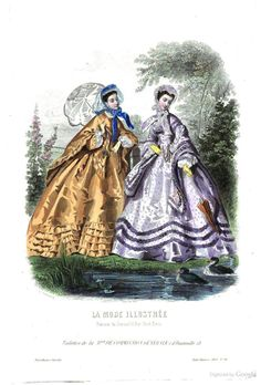 1863 May La Mode illustrée