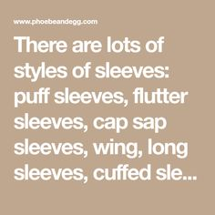 There are lots of styles of sleeves: puff sleeves, flutter sleeves, cap sap sleeves, wing, long sleeves, cuffed sleeves, bell sleeves, you get the point. A number of these sleeves work well for doll clothes. In other lessons I will cover kinds of sleeves, tweaking a sleeve, and sleeve construction,