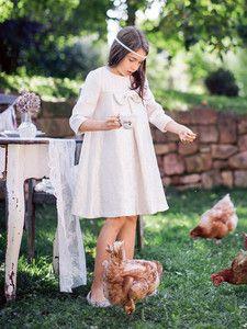 burda style: Kinder - Mädchen - Festliche Mode - Schleifenkleid - A-Linie