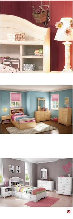 Shop Target for kids headboard you will love at great low prices. Free shipping on orders of $35+ or free same-day pick-up in store. Girl Bedroom Designs, Girls Bedroom, Bedroom Decor, Bedroom Ideas, Room Interior, Interior Design Living Room, Interior Livingroom, Cool Kids Bedrooms, Toddler Rooms
