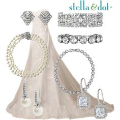 Stella & Dot Bridal I love this look! The Casablanca adds the perfect touch of elegance for your special day