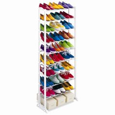 Buy Amazing Shoe Rack Portable With 10 Layer Holds Approx 30 Pairs Shoes Price and Features.Shop Amazing Shoe Rack Portable With 10 Layer Holds Approx 30 Pairs Shoes Online Shoe Organiser, Shoe Rack Organization, Door Shoe Organizer, Shoe Storage Cabinet, Storage Cabinets, Storage Shelves, Shelf Organizer, Rack Shelf, Closet Storage