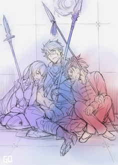Scáthach / Lancer / Li Shuwen【Fate/Grand Order】