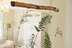 a daily something: diy | hanging test tube flowers.