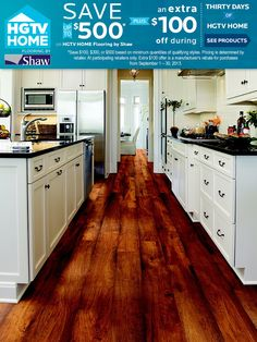 I would love these floors in my entire house! LOVE, LOVE!