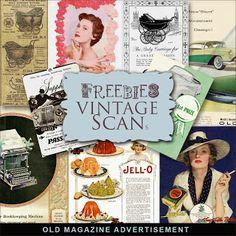 Freebies Old Magazine Advertisement