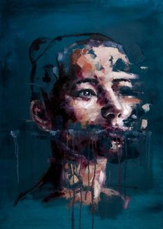 "Saatchi Art Artist Davide Cambria; Painting, ""Despite Everything I'm Still Human"" #art"