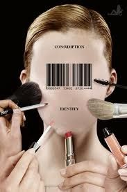 Idea that women are bought and used for their beauty
