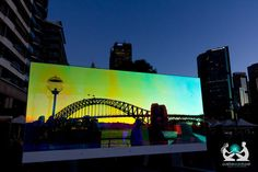 #VividSydney #Sydney Harbour Bridge http://positiveworldtravel.com