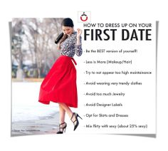 FIRST DATE??? TIPS on how to dress up