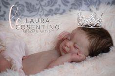LAURA REBORN DOLLS reborn baby doll *Americus* by Laura Lee Eagles