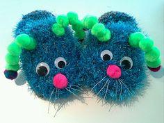 Ravelry: critter slippers free crochet pattern by Alyson Basehore