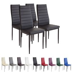 """Albatros 2551 Milano - MILAN chairs set brings an all-Italian flavor to your dining room! """"Chic and practical"""". Kitchen Table Chairs, Dining Chair Set, Dining Room Furniture, Table And Chairs, Home Furniture, Outdoor Furniture, Retro Lounge, Danish Modern, Panton Chair"""