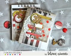 Winter Notebook//7 Dots Studio