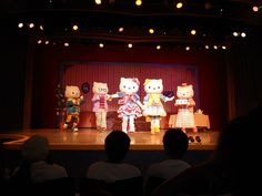 Sanrio Puroland, Tokyo, Japan. Hello Kitty  family play! I was a teenager surrounded by a crowd of toddlers :).