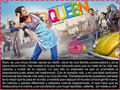 Cine Bollywood Colombia: QUEEN