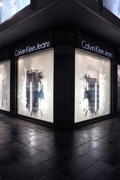 Calvin Klein icebergs windows by StudioXAG, Worldwide » Retail Design Blog