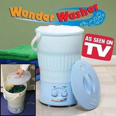 """Wonder Washer 