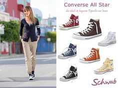 Seit langer Zeit gehört Converse All Star zu den bleliebtesten Sneaker Labels. #ConverseAllStar