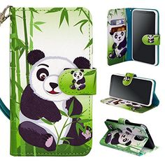 Find amazing LG Stylo 3 Case, Customerfirst Premium PU Leather Flip Fold Wallet Case with [ID&Credit Card Slot] for LG Stylo 3 / LG Stylo 3 Plus Free Emoji keychain (Panda) panda gifts for your panda lover. Great for any occasion! Design Transparent, Free Emoji, Happy Panda, Panda Gifts, Little Panda, Dust Plug, Cat Dog, Car Decal, Design Case
