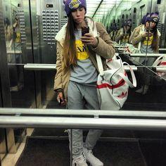 "@aizadolmatovaaa's photo: "") я готова) кросы #adidasOriginals штаны #terranova sportbag #adidasOriginals кофта и шапка @yolo_shop куртка #китай )"""