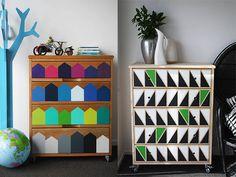 Mil e uma ideias para renovar a cômoda - dcoracao.com - blog de decoração e tutorial diy