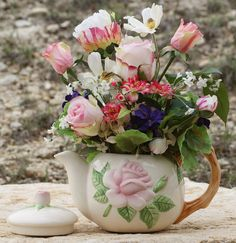 Tea for Two Your Mom and You by LoneStarPetals on Etsy, $69.95