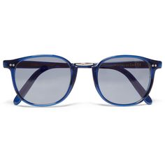 Cutler and Gross Square-Frame Acetate and Metal Sunglasses (4 430 ZAR)