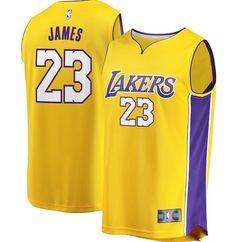 60fdd602243 LeBron James LA Los Angeles Lakers jersey. La Lakers Jersey