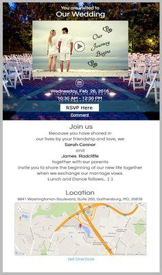How To Send A Wedding Invitation Video? #VideoInvitations