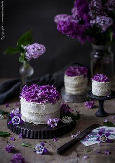 Frau Herzblut Blog || Zuhause Beautiful Desserts, Beautiful Cakes, Amazing Cakes, Fancy Cakes, Mini Cakes, Birthday Cake With Flowers, Gateaux Cake, Cake Photography, Sweets