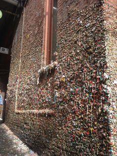 Seattle's Gum Wall Bucket Lists, North America, Seattle, City Photo, Washington, Road Trip, Posts, Wall, Blog