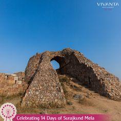 #Day6 Step out to explore the many hues of Surajkund with our Tallis Trails at Vivanta by Taj - Surajkund. Know more: http://on.fb.me/1ztW38e #VivantabyTaj #Delhi #Surajkund #TallisTrails #Archaeology