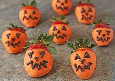 Strawberry Jack O' Lanterns