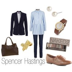"""Spencer Hastings from """"Pretty Little Liars"""". My favorite character!"""