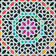 Arabic Design Prayer Room Ic Patterns Geometric Arabesque Persian Geometry Handicraft People