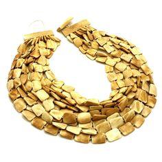 Iris Apfel Collection Ten Strand Bone Necklace