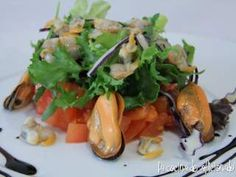 Seaweed Salad, Food And Drink, Pasta, Chicken, Meat, Ethnic Recipes, Blog, Gastronomia, Gourmet