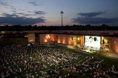 Stadium in Berlin during World Championships