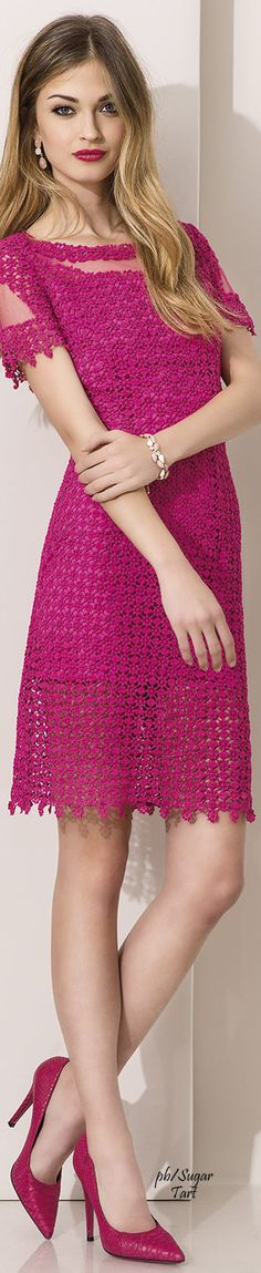 Renata Collection purple lace dress women fashion outfit clothing style apparel @roressclothes closet ideas