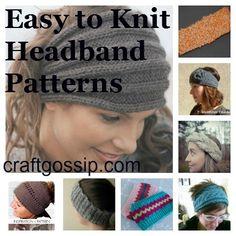Free Headband Knitting Patterns craftgossip.com