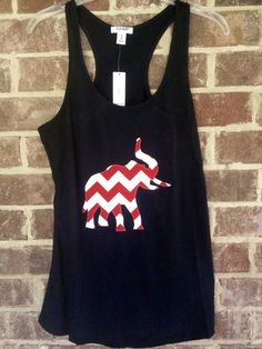 Hey, I found this really awesome Etsy listing at http://www.etsy.com/listing/157202119/alabama-elephant-tank