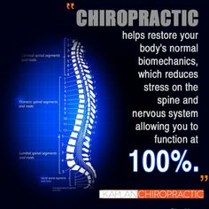 #Chiropractic care allows your body to function at 100%. Make an appointment to come see us today at 305-507-5220. #MiamiBeach