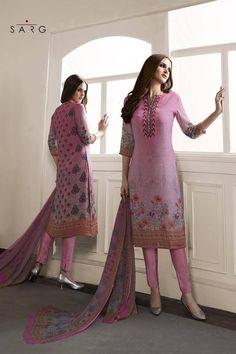 Buy Light Purple Georgette Embroidered Salwar Kameez at Best Price on Variation. Huge range of Designer suits, Punjabi suits, Anarkali suits and Women Salwar Kameez Online.