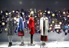 Dior, London. http://www.retailstorewindows.com