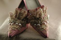 Lavender Princess Marie Antoinette Shoes
