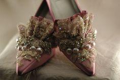 Lavender Princess Marie Antoinette Shoes
